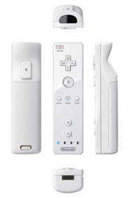 Control del Nintendo Wii