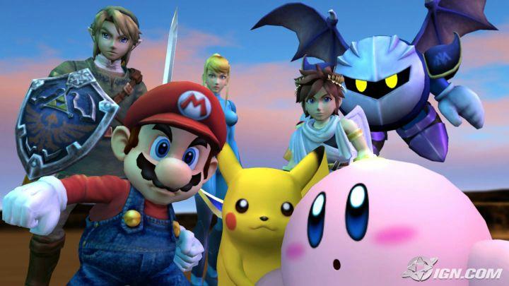 Super Smash Bros. Brawl, y más juegos del Wii