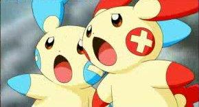 Los Pokémon del Mes de Febrero: Plusle y Minun