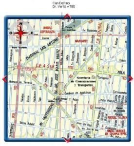 mapa cdestino