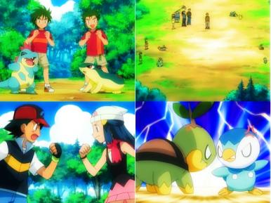 !Ash & Dawn! ¡Salvados por una doble batalla!