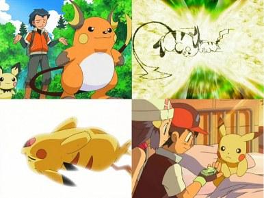 ¡Pikachu! ¡Raichu! ¡El camino de la evolución!