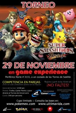 Torneo de Smash Bros. Brawl 2 vs 2, 29 de Noviembre