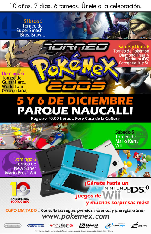 Torneo Pokémex 2009 (Actualización)