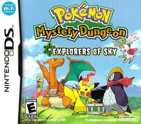 Save Point: Pokémon Mystery Dungeon: Explorers of Sky (NDS)