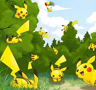 Recorre un Bosque Amarillo en tu PokéWalker Yellowforest