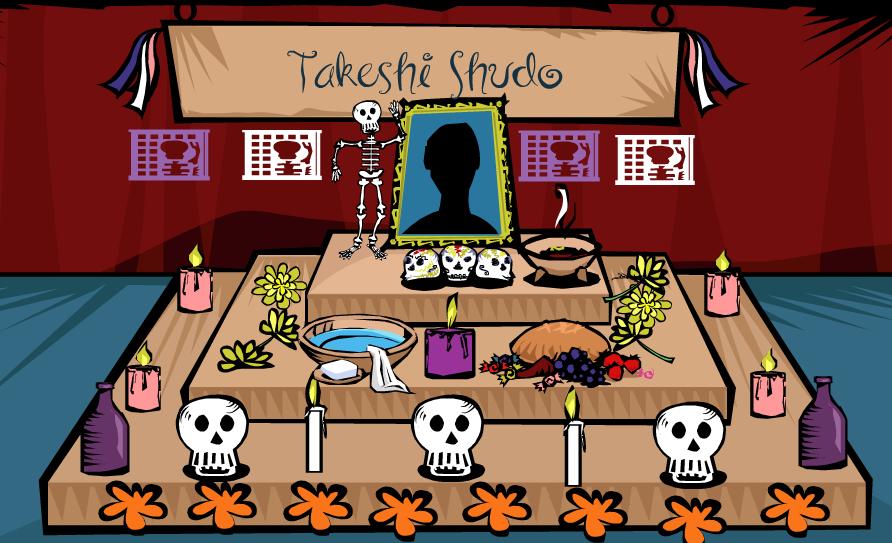 Altar a Takeshi Shudo (1949-2010)