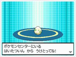 ¡A la vista! ¡Un huevo Pokémon!