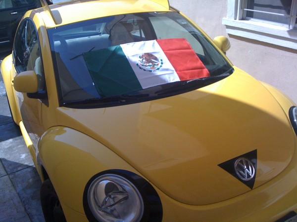 Pikachu VW en México