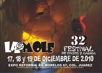La Mole 32: Festival de Comics y Manga