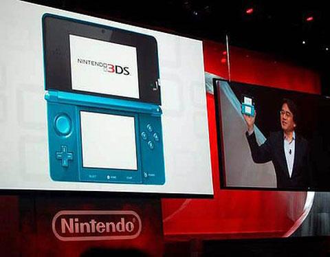 Nintendo 3DS: 27 de marzo a $249.99 dólares