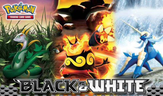 ¿Que hay dentro de Pokémon Black & White TCG?
