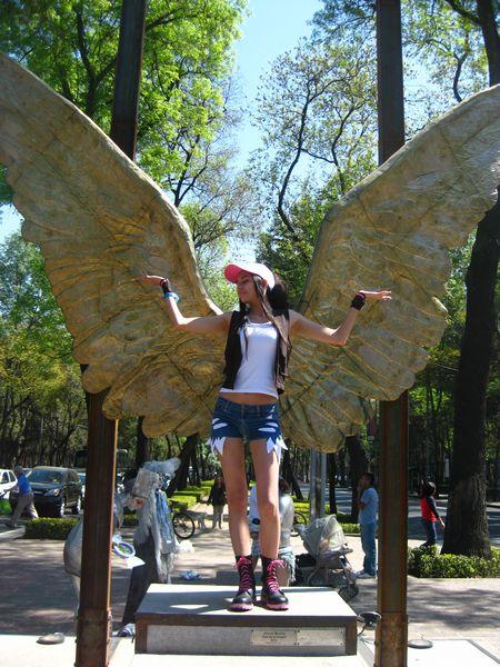 Whitlea visita la Ciudad de México