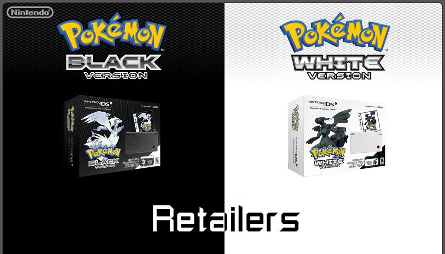 Bundles de Pokémon Black and White
