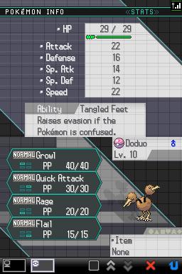Guía de Pokémon Dream World(pronto también de global link) Doduoatrapado2