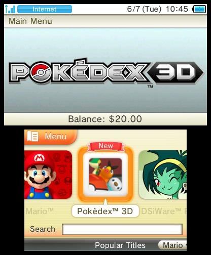 Pokédex en 3D