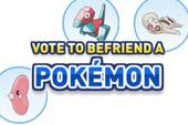 Vota para traer un Pokémon del Dream World