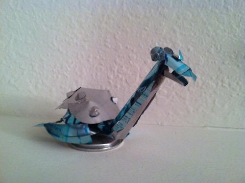 Arte Pokémon reciclando