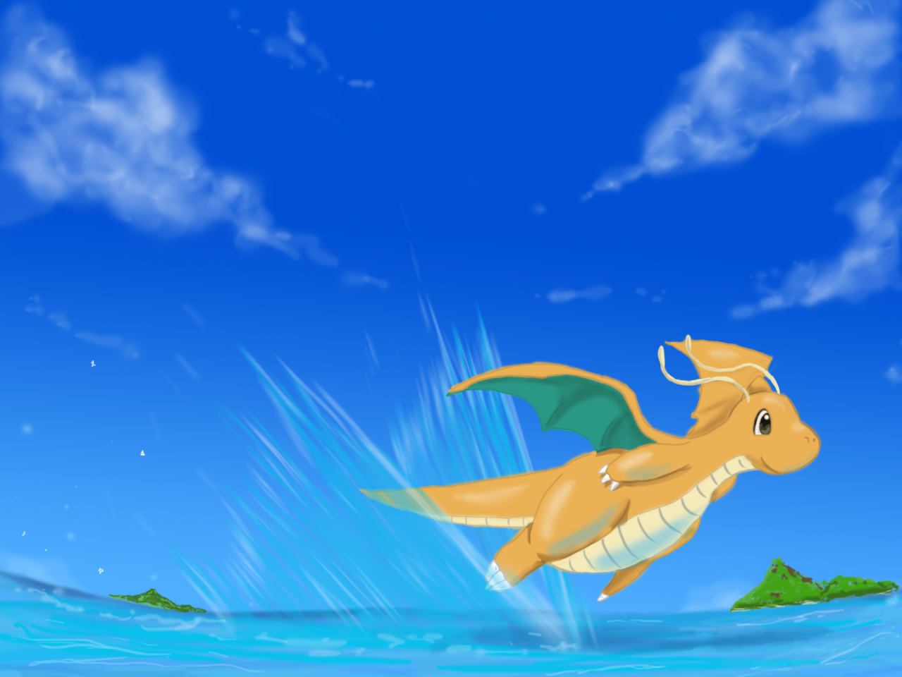 Leftovers! Dragonite