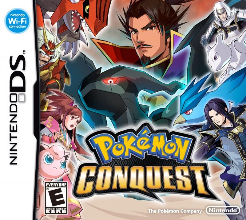 Passwords para Pokémon Conquest