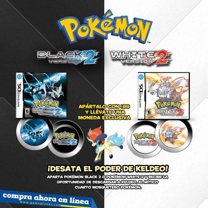 Distribución de Keldeo en México con GamePlanet