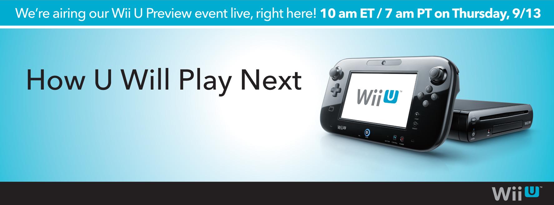 Todo sobre la conferencia de Nintendo del Wii U