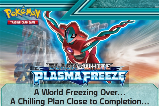 Pre-lanzamiento de Pokémon TCG Plasma Freeze