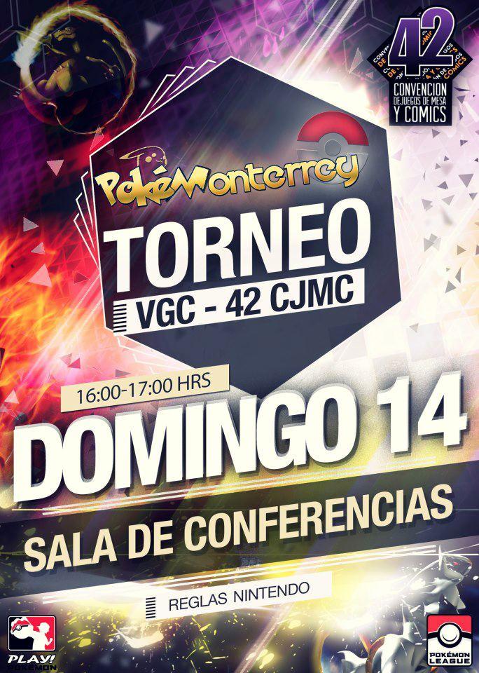 Evento de Pokémon en Monterrey del 12 al 14 de Abril