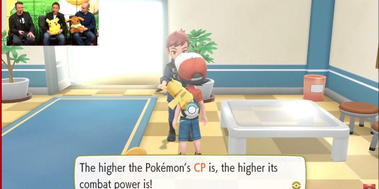 E3 2018: Pokémon Let's Go incorpora aún más conceptos de Pokémon GO